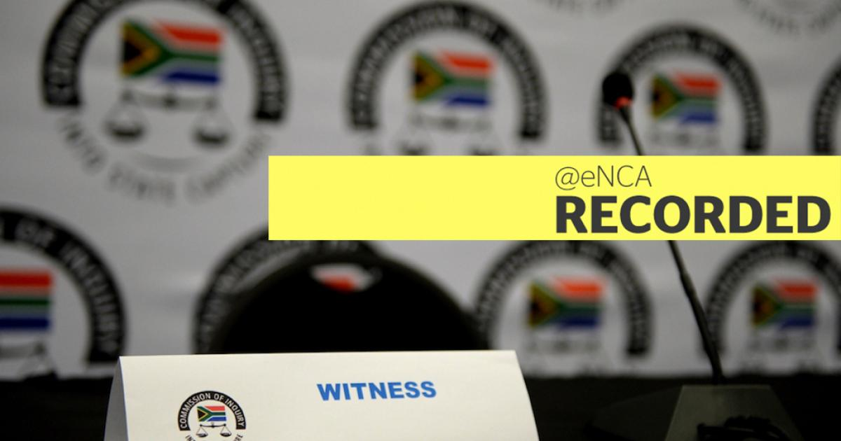 WATCH: Former spy boss testifies at state capture inquiry - eNCA