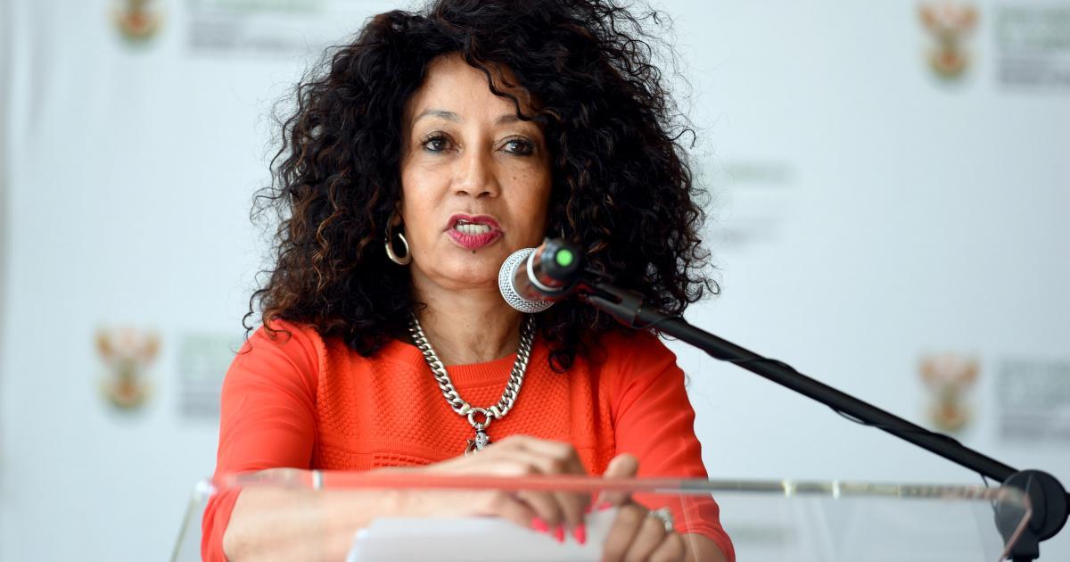 West Rand emergency housing put up, Sisulu takes aim at media - eNCA