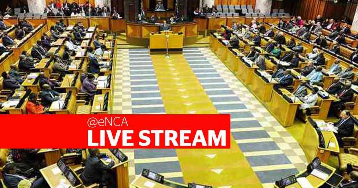 LIVESTREAM: Die parlement debatteer xenofobiese geweld - eNCA