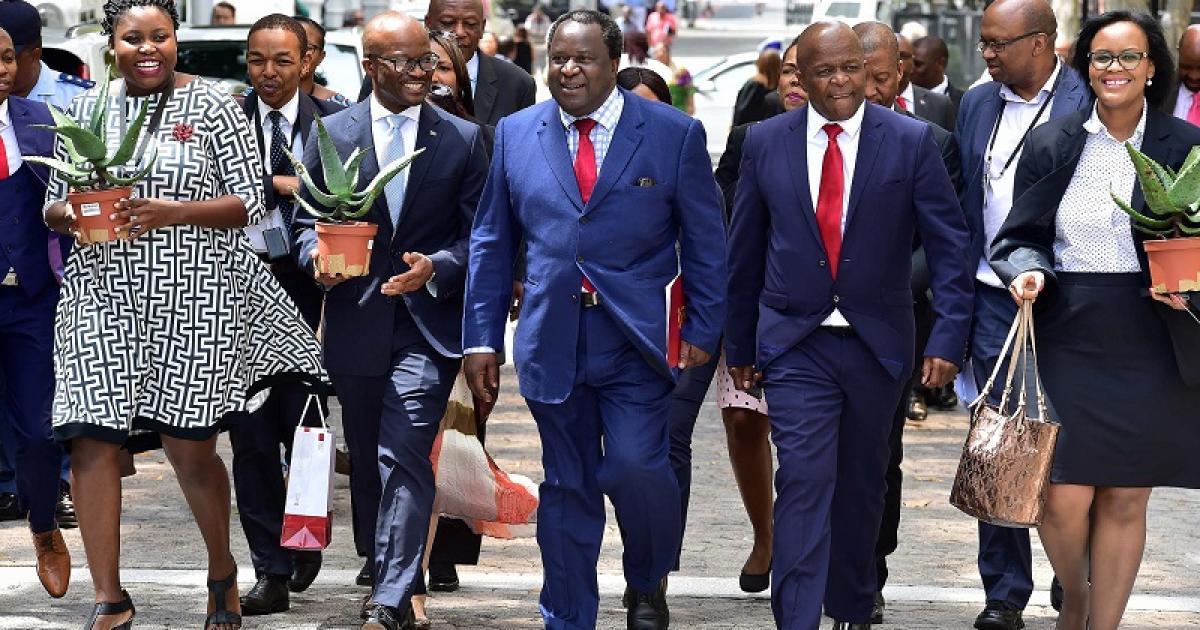 Mboweni se ekonomiese plan opgestel deur konsultante: EFF - eNCA