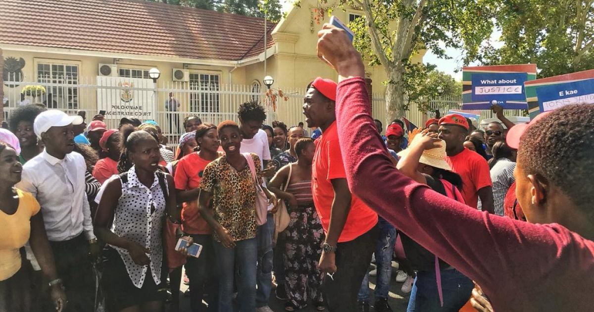 Polokwane Residents March Against Gangsterism After