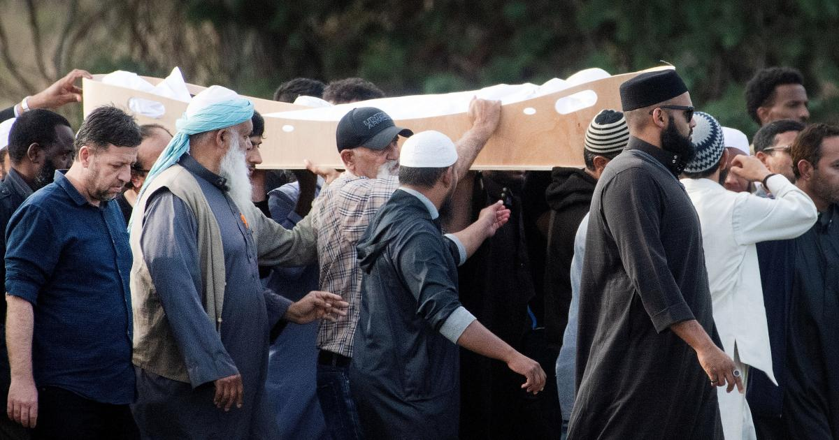 New Zealand Shooting Facebook: Victims Of New Zealand's Mosque Shootings Laid To Rest