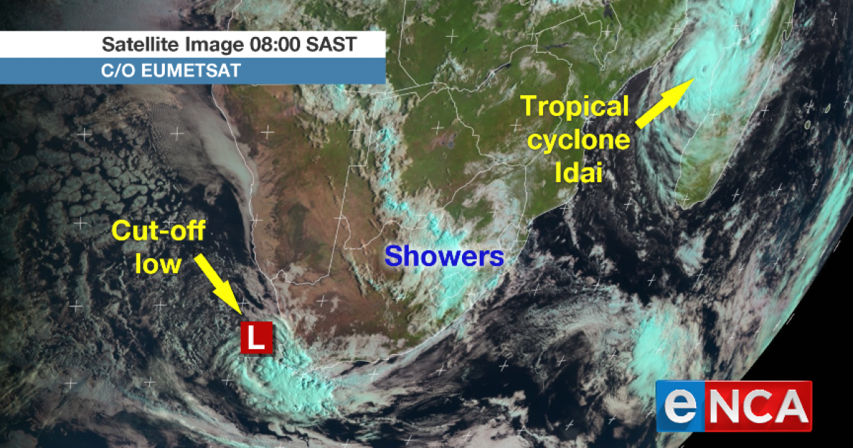 cyclone idai set to batter mozambique