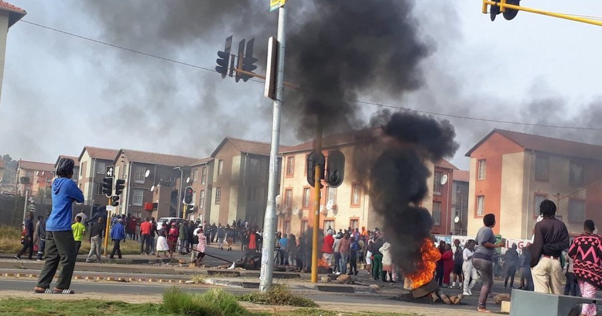 2019 service delivery protests