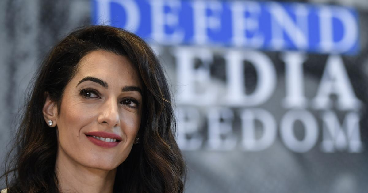 Amal Clooney named UK media freedom envoy | eNCA