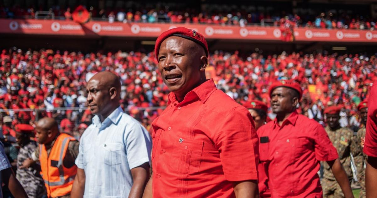 EFF call cabinet a 'declaration of war'