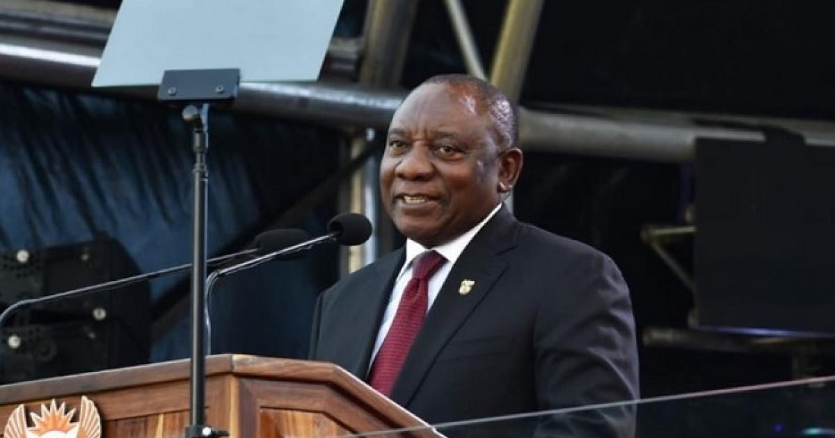 IN PICTURES: Ramaphosa's inauguration