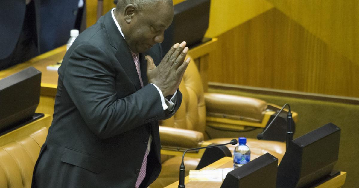 An iconic voice has gone silent - Ramaphosa - eNCA