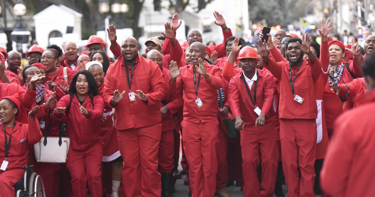 Sanef, EFF om in die hof af te staan - eNCA