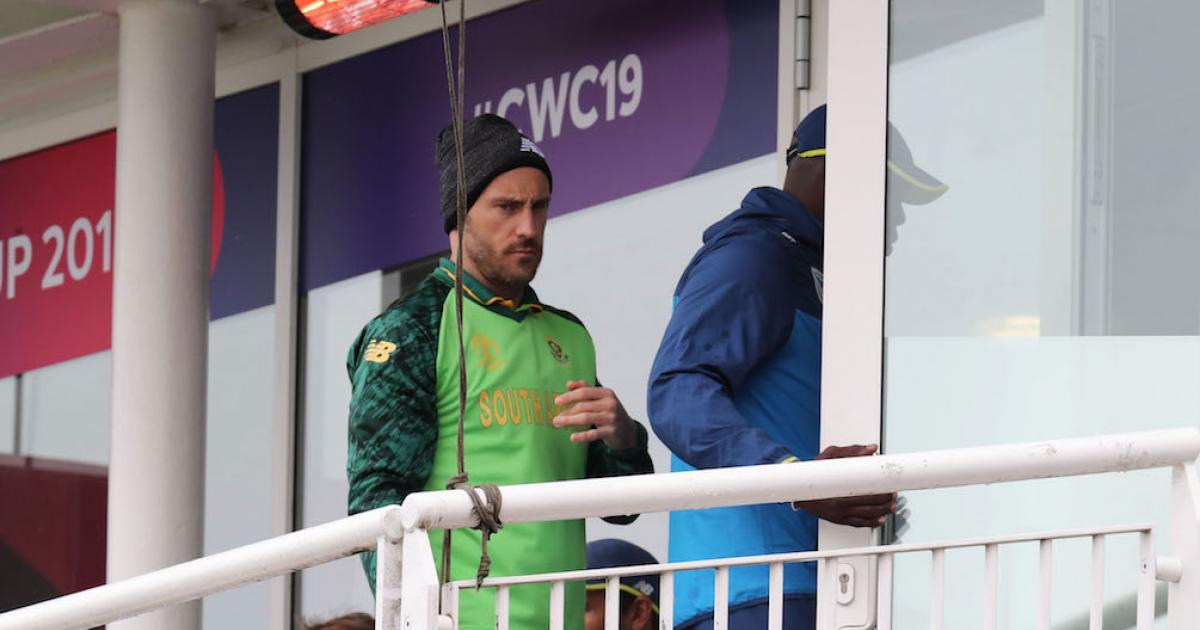Washout could leave Proteas' World Cup hopes down the drain