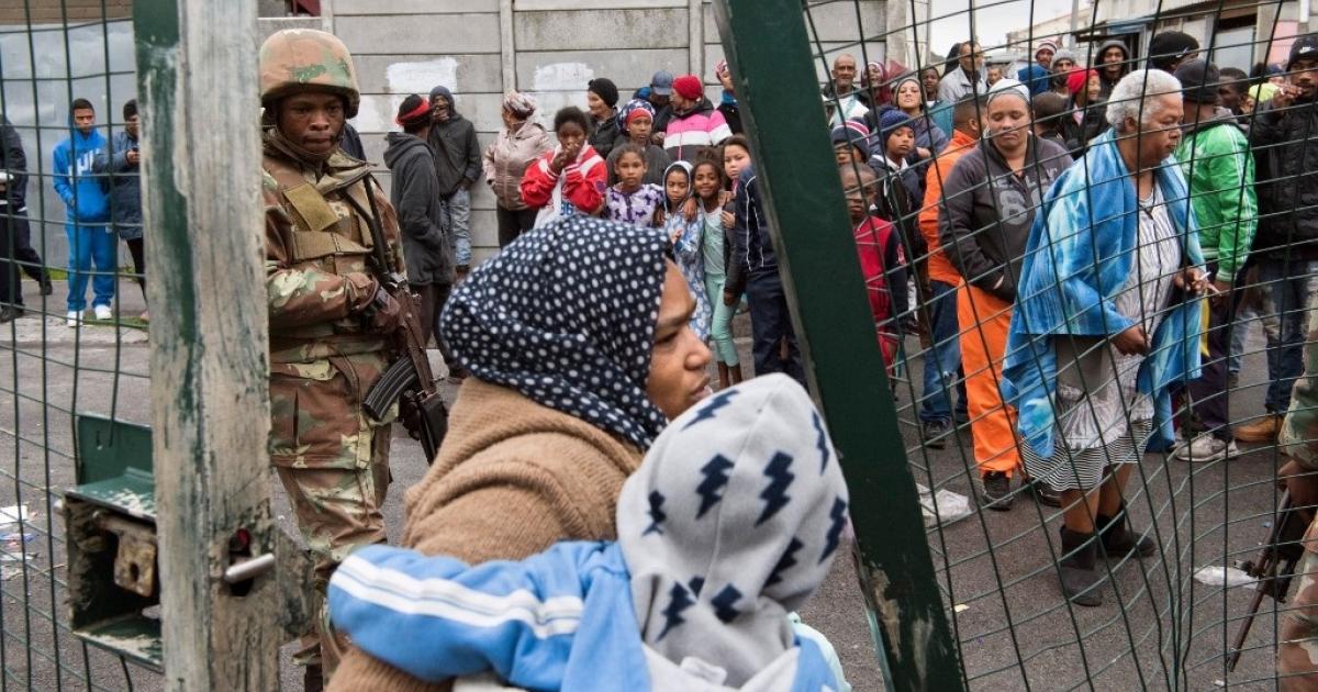 SANDF gaan uit Kaapstad onttrek - eNCA