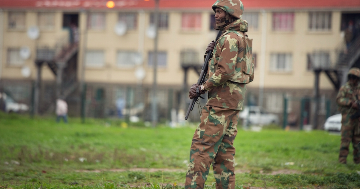 Soldiers deployed to Cape Town accused of assault - eNCA