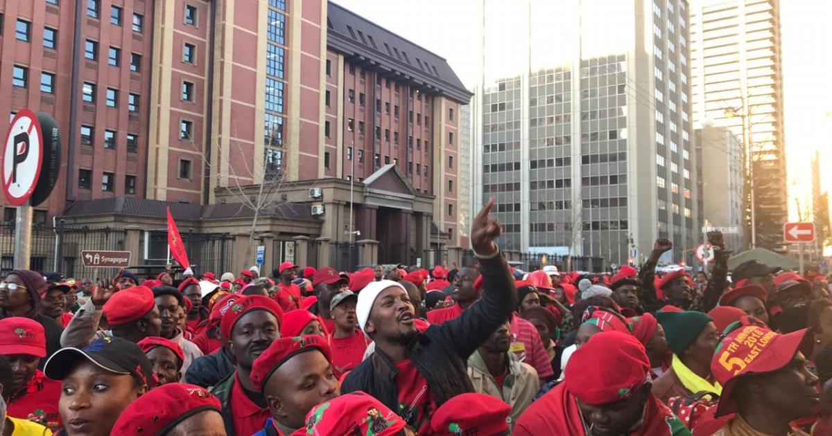 Sanef het 'neergedaal op politieke arena': EFF - eNCA