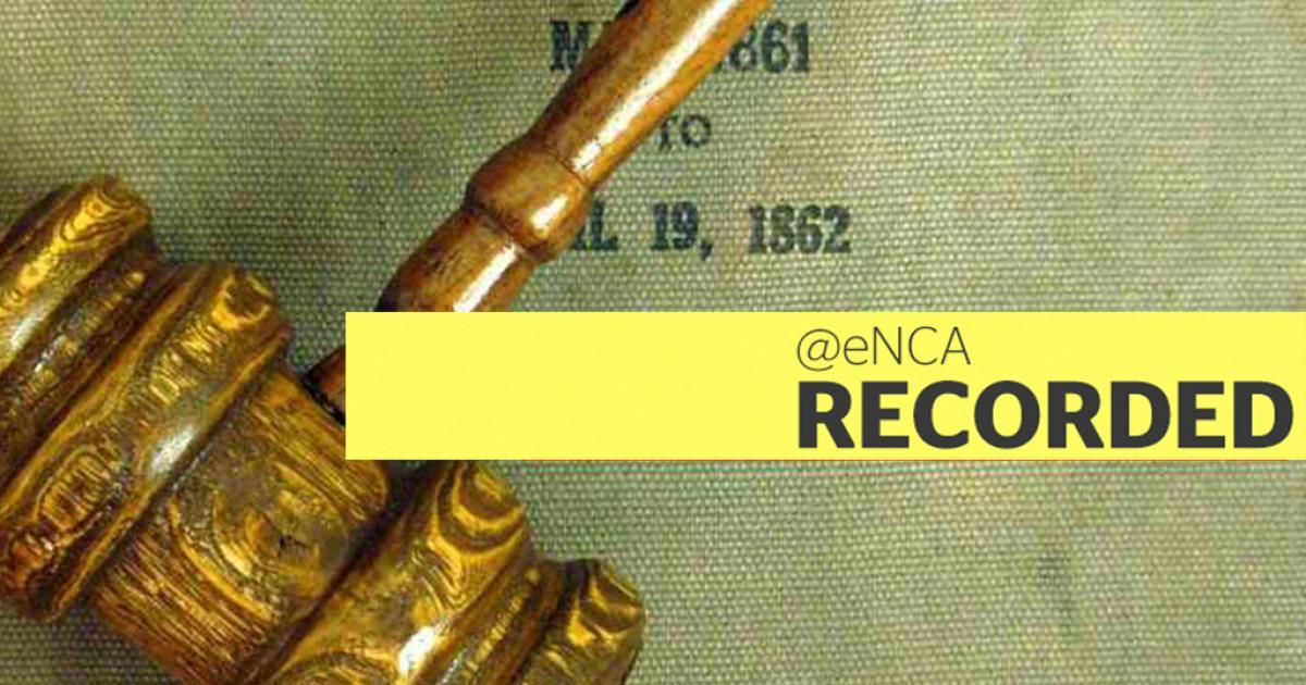 WATCH: Ondankbare vertoon van haatspraak van die apartheidsvlag - eNCA