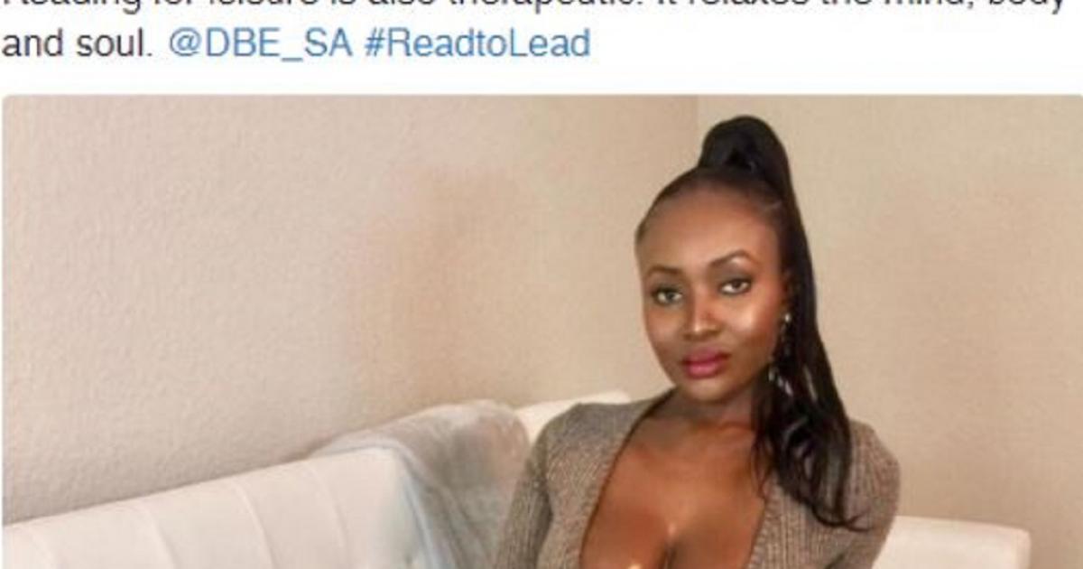 Woordvoerder van onderwys vra om verskoning vir #ReadtoLead-tweets - eNCA