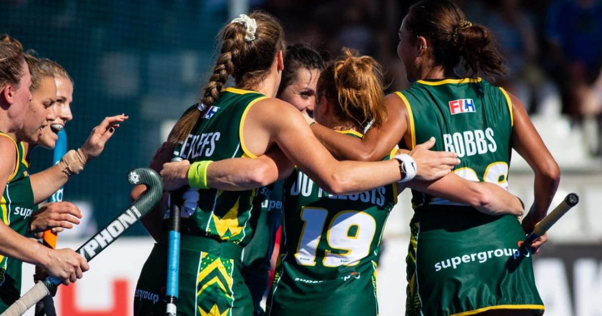 SA Ladies Hockey team have their eyes set on the African