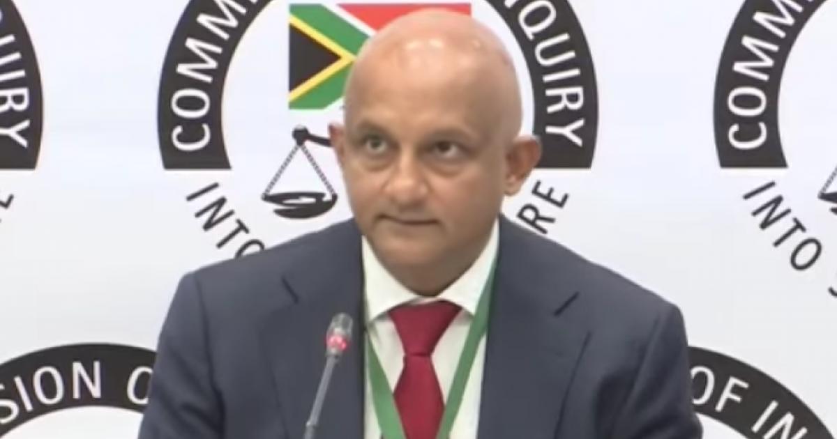 Die rede vir die lening van R300,000 is 'n raaisel, getuig Natasen - eNCA