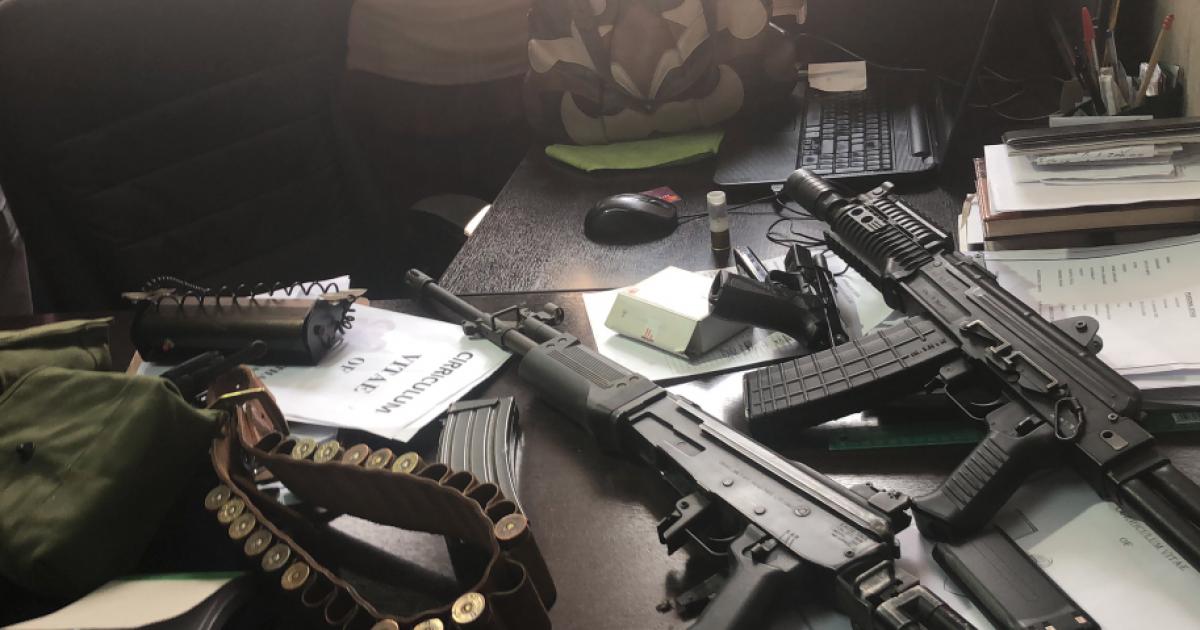 Die polisie beslag lê op gewere in Joburg CBD-aanval - eNCA