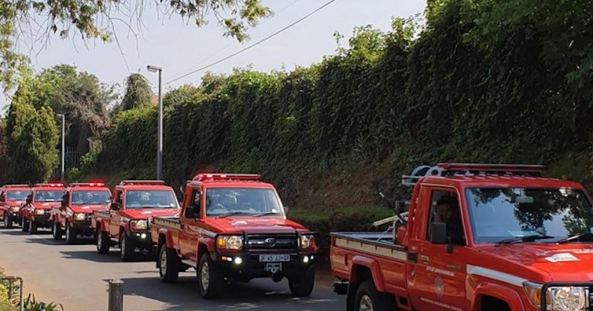 Joburg kry nuwe brandweerwaens - eNCA