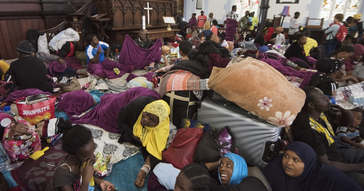 Refugees to leave Cape Town church - eNCA