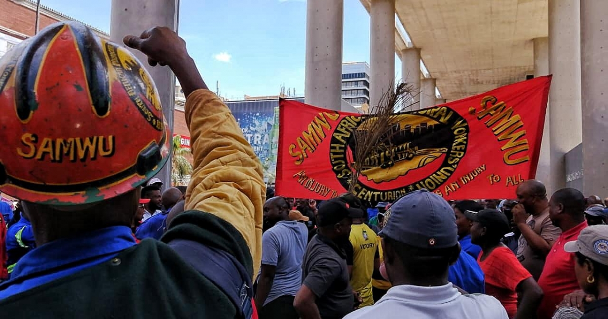 Samwu says municipalities not ready for Level 3 - eNCA