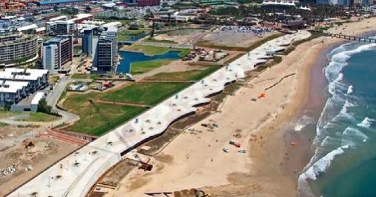 Africa's longest beachfront promenade opens in Durban - eNCA