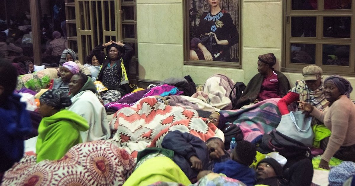 Refugees want out of SA - eNCA