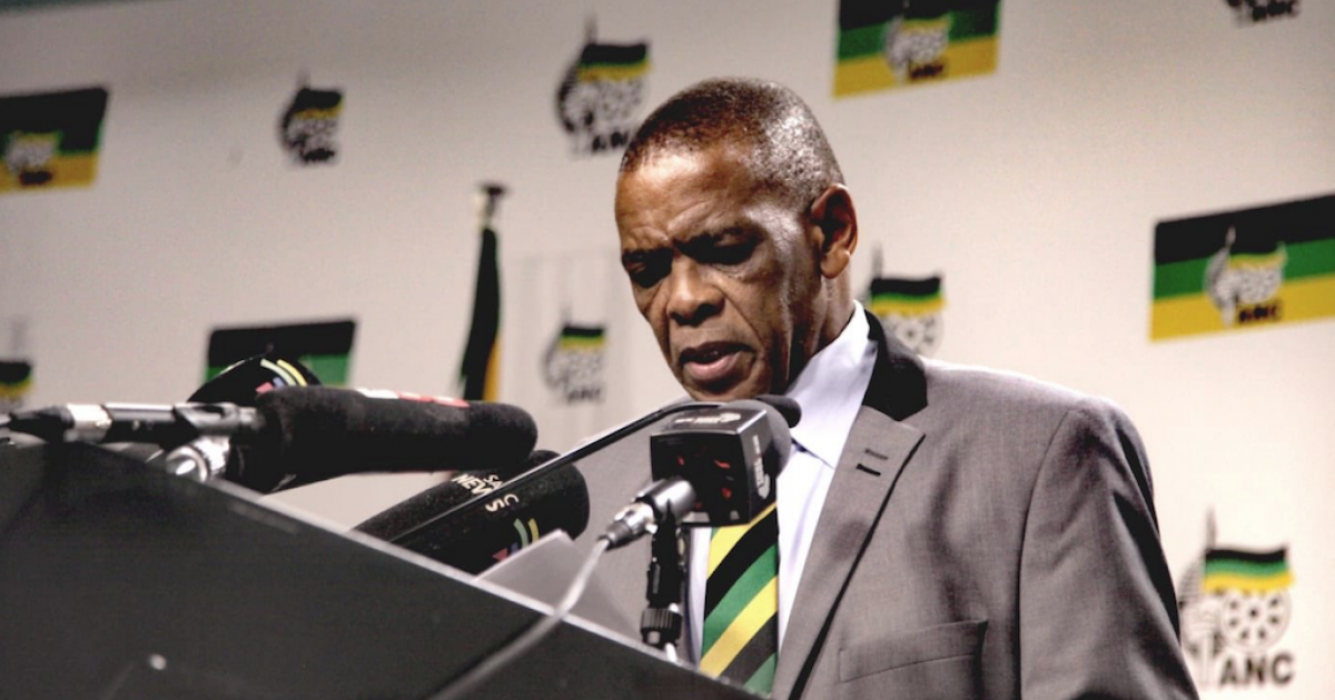 Mystery over Magashule's missed call from Botswana - eNCA