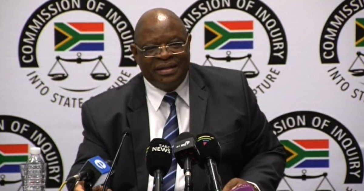 Lucky Montana lodges complaints against Zondo - eNCA