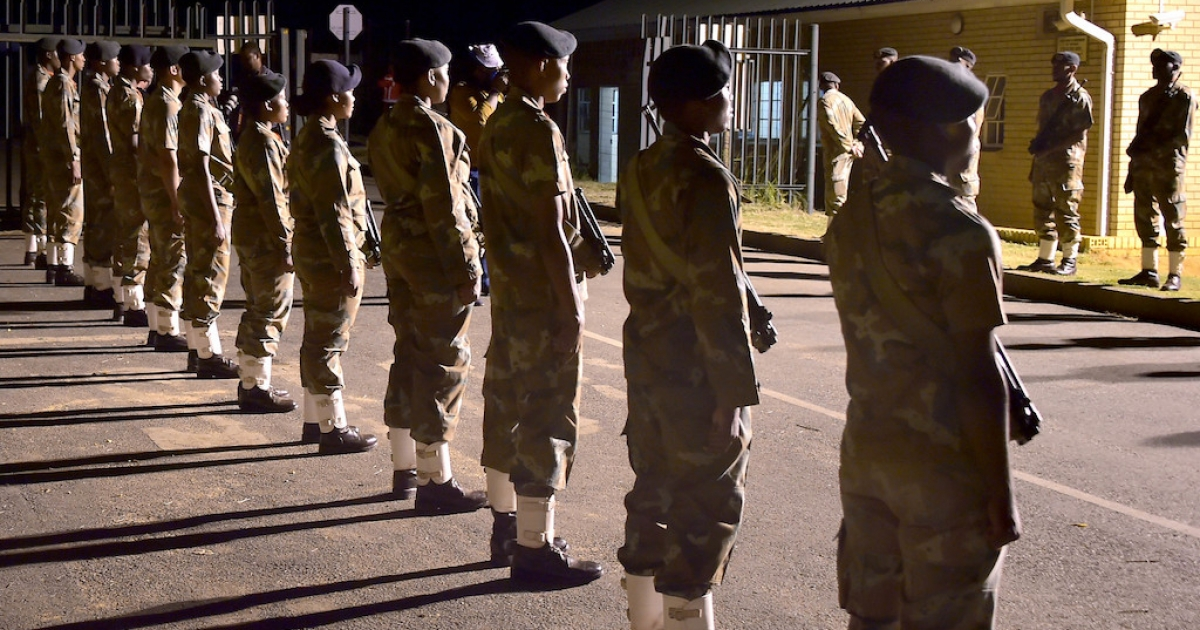 Truck Attacks: SANDF to consider SAPS request for support - eNCA