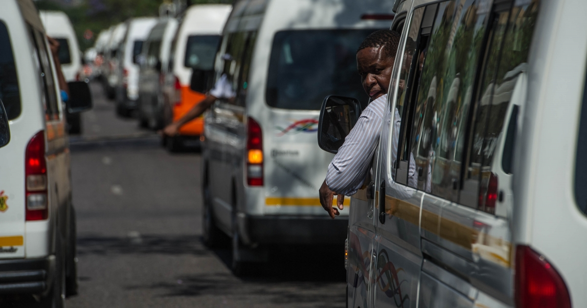 Taxis can operate between provinces at 70% capacity - eNCA