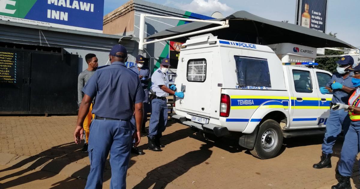 SA Lockdown: Police arrest over 7000 people in KZN - eNCA