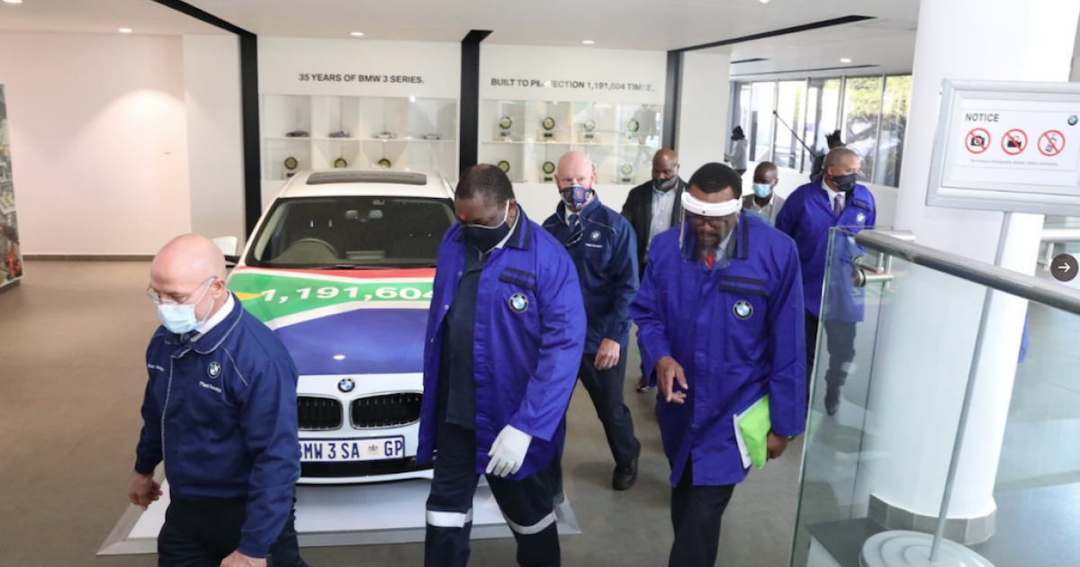 SA Lockdown: Makhura inspects workplace compliance - eNCA