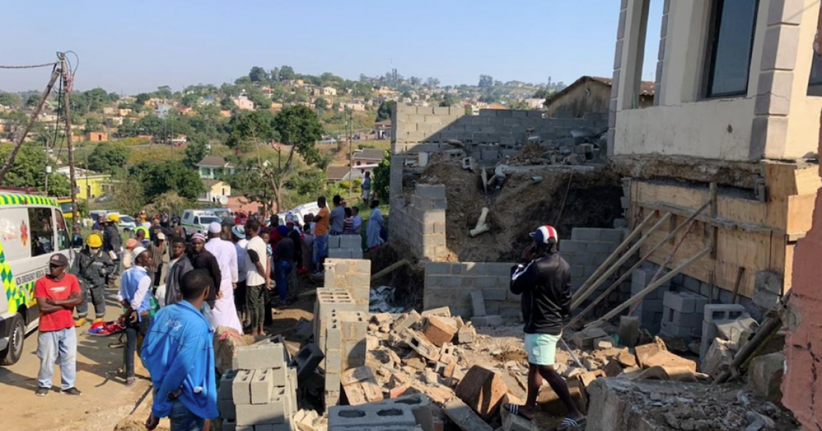 One dead, three injured in KZN wall collapse - eNCA