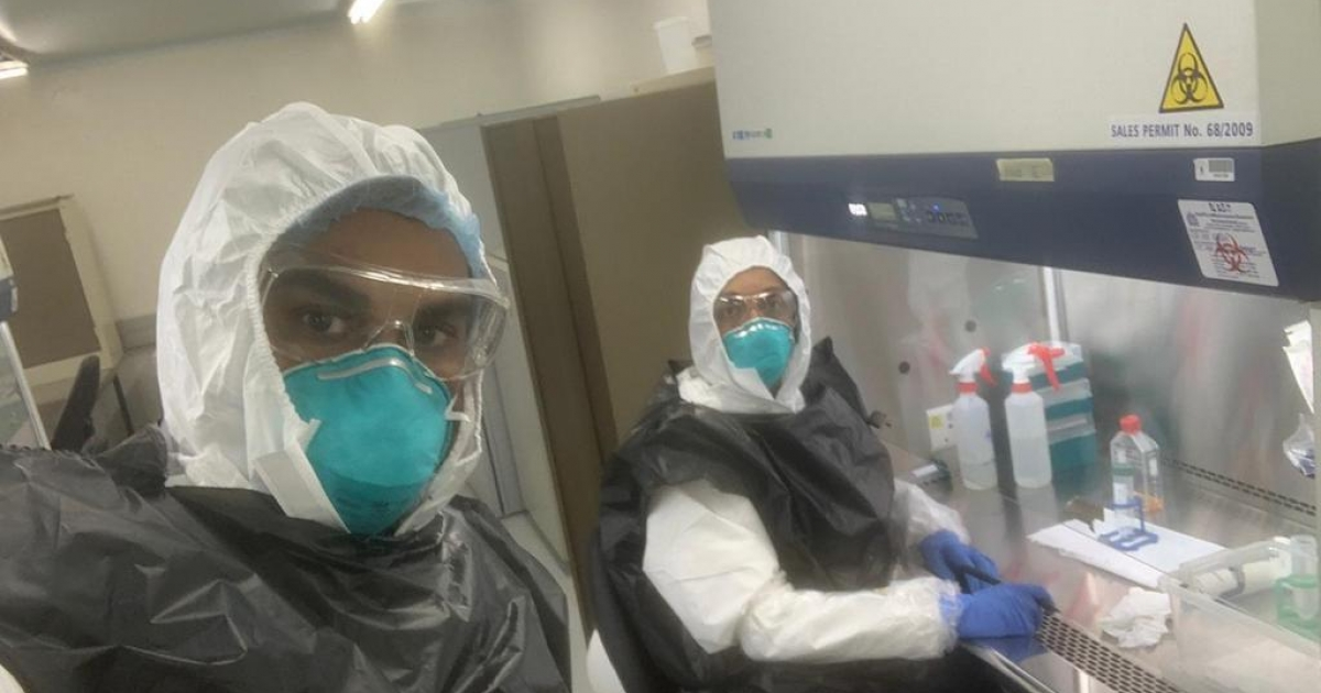 SA scientists harvest live coronavirus - eNCA