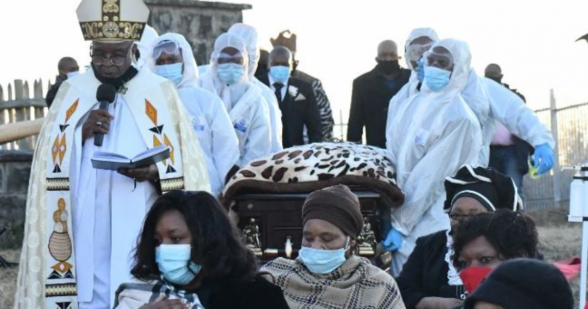 AmaRharhabe queen laid to rest - eNCA