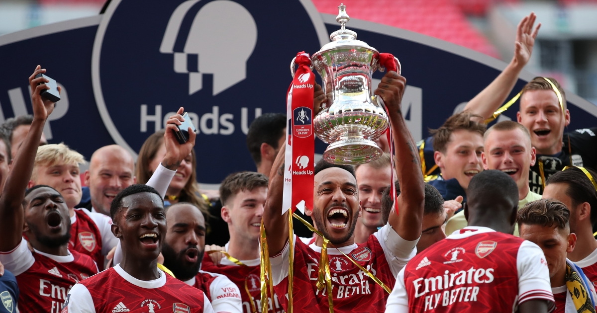Arteta hopes FA Cup win is just the start for Aubameyang at Arsenal - eNCA