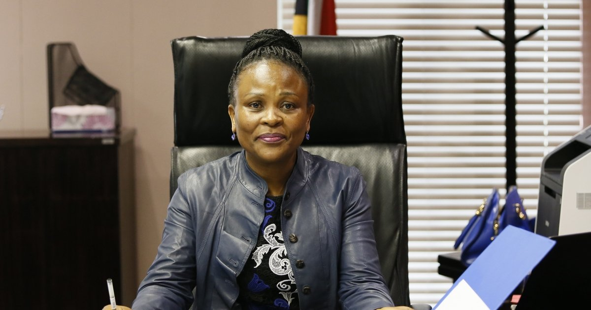Mkhwebane wants impeachment halted after court ruling