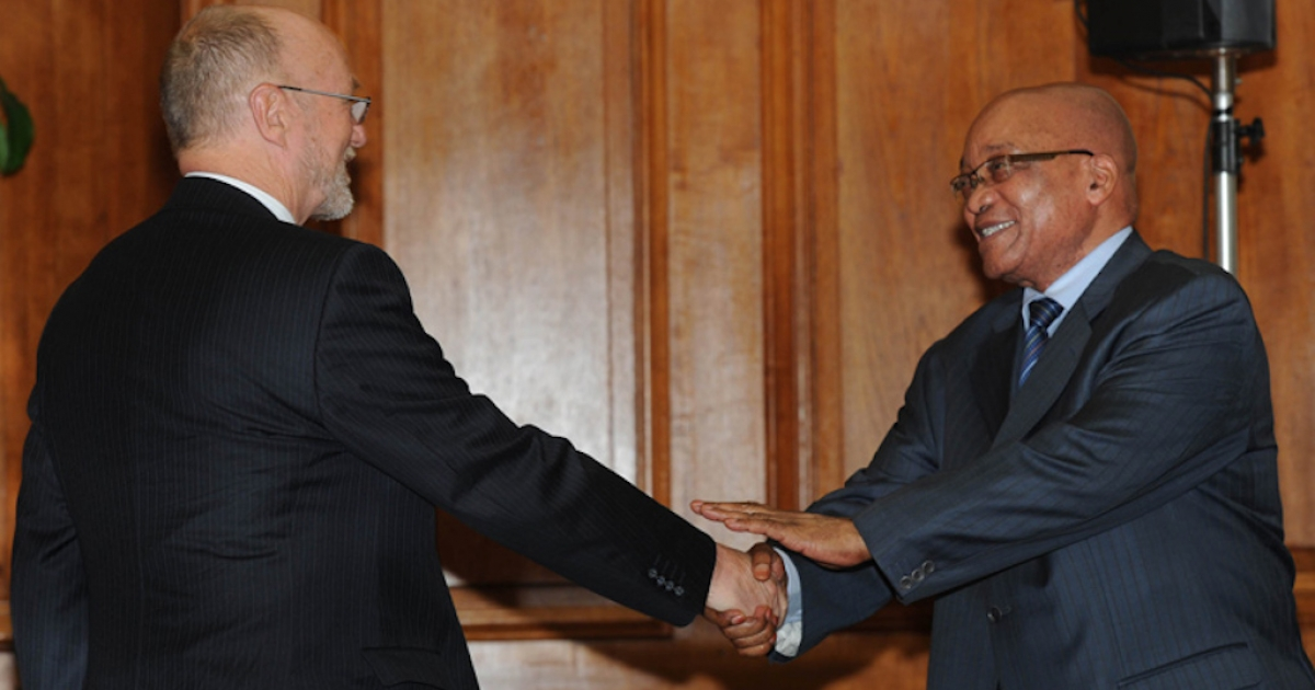 Zuma apologises to Hanekom - eNCA