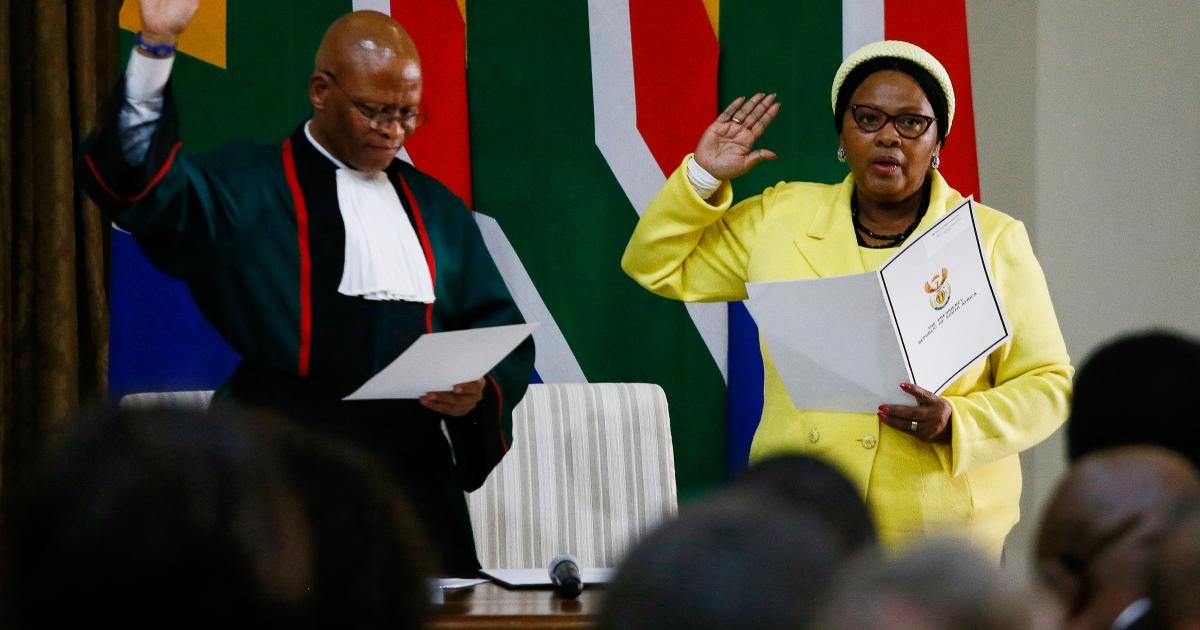 ANC Zim trip: Ramaphosa docks Mapisa-Nqakula's salary - eNCA