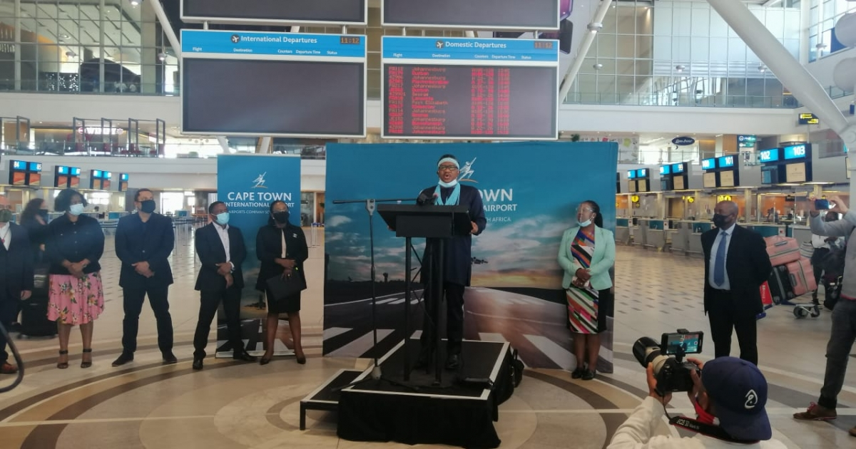 CPT International Airport given green light to resume travel - eNCA