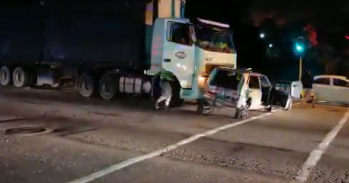 Residents thankful to be alive after runaway truck accident