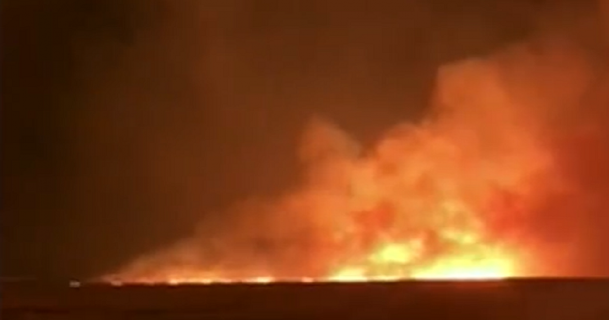 Farmer fighting for his life after runaway Free State fires - eNCA