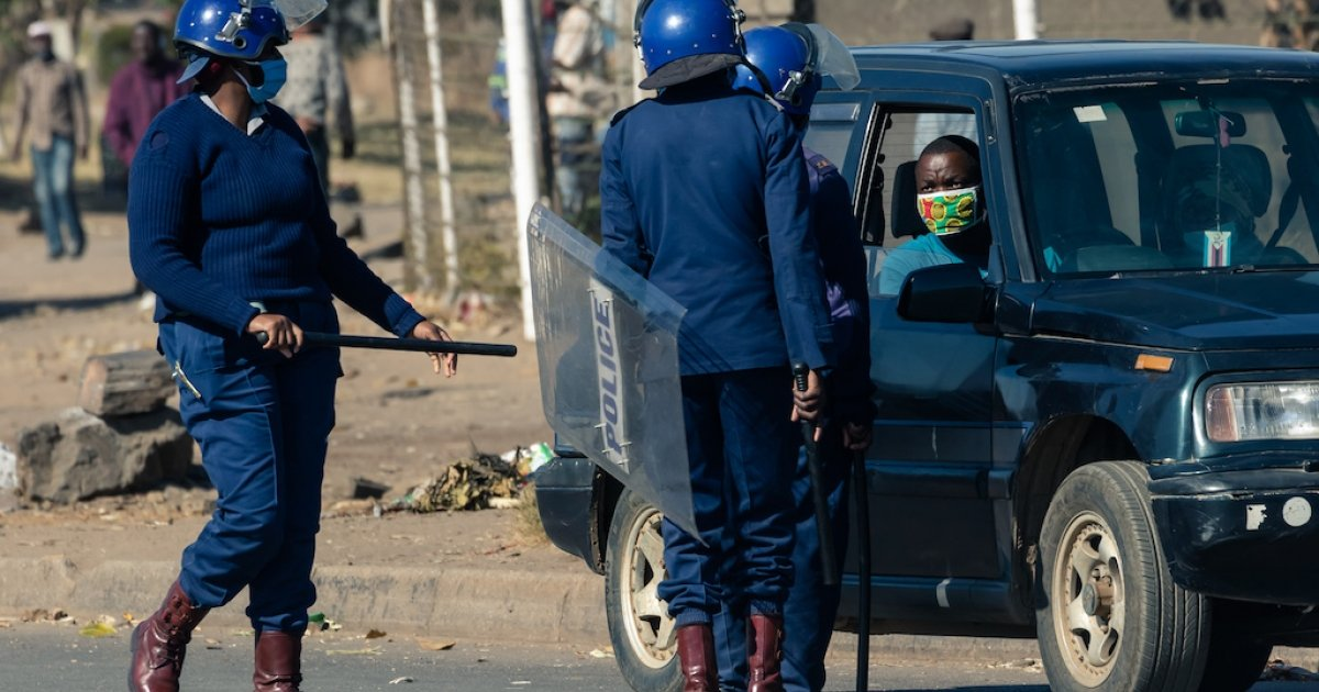 Violent gun crimes on the rise in Zimbabwe