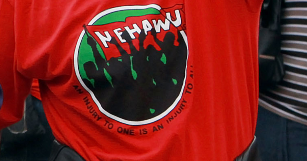 Nehawu: A war with government unavoidable - eNCA