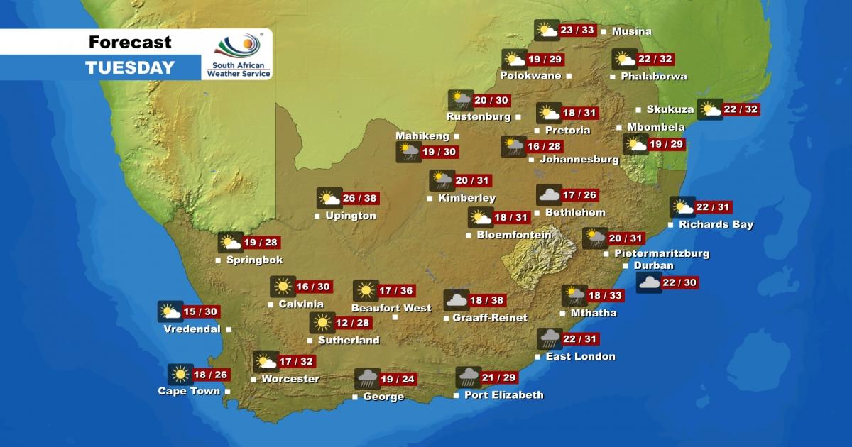 Weather forecast singleton tomorrow