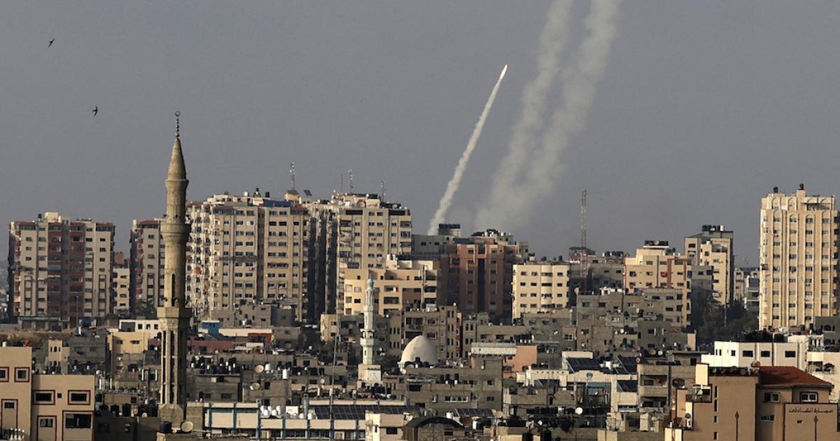 Rockets fired from Gaza at Israel amid al-Aqsa mosque ...