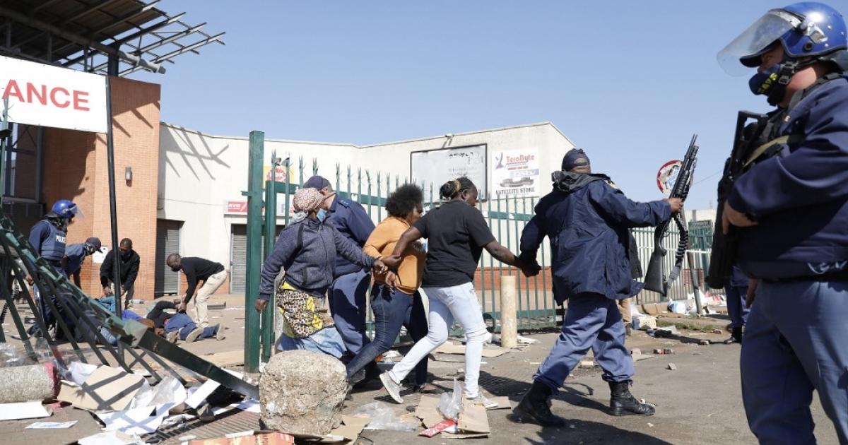 Thabo Mbeki Foundation expresses concern over recent public unrest - eNCA