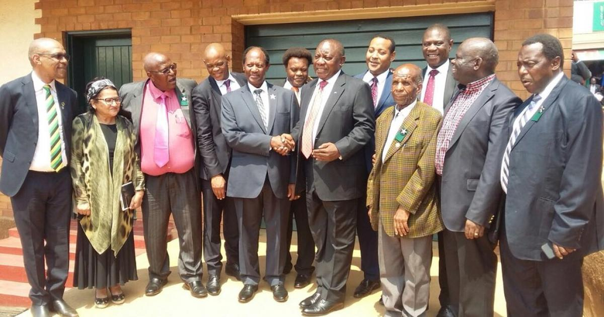 Dr Be Lekganyane: WATCH: ANC Leadership Visits ZCC For The First Time