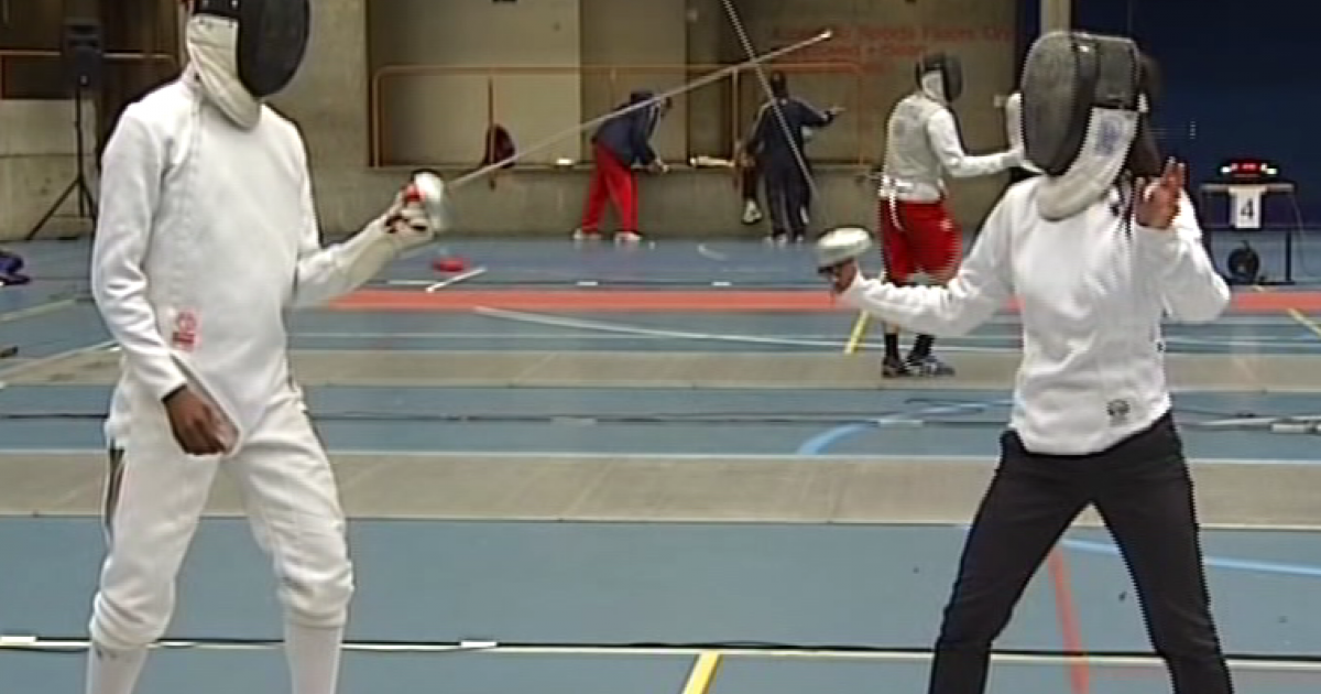 Meet South Africa's young fencing star